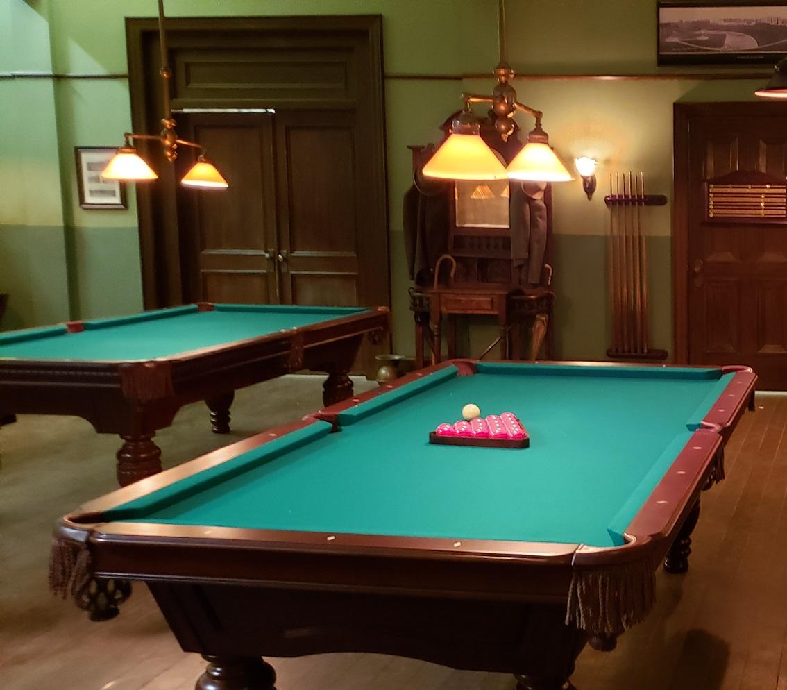 Murdoch-Mysteries-Set-with-Beringer-Billiard-Lemier-Tables-by-Mr-Billiard