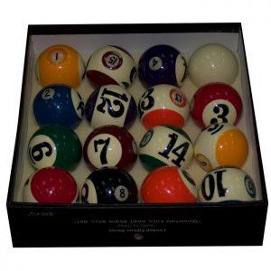 Mr. Billiard Wall Eye Pool Ball Set