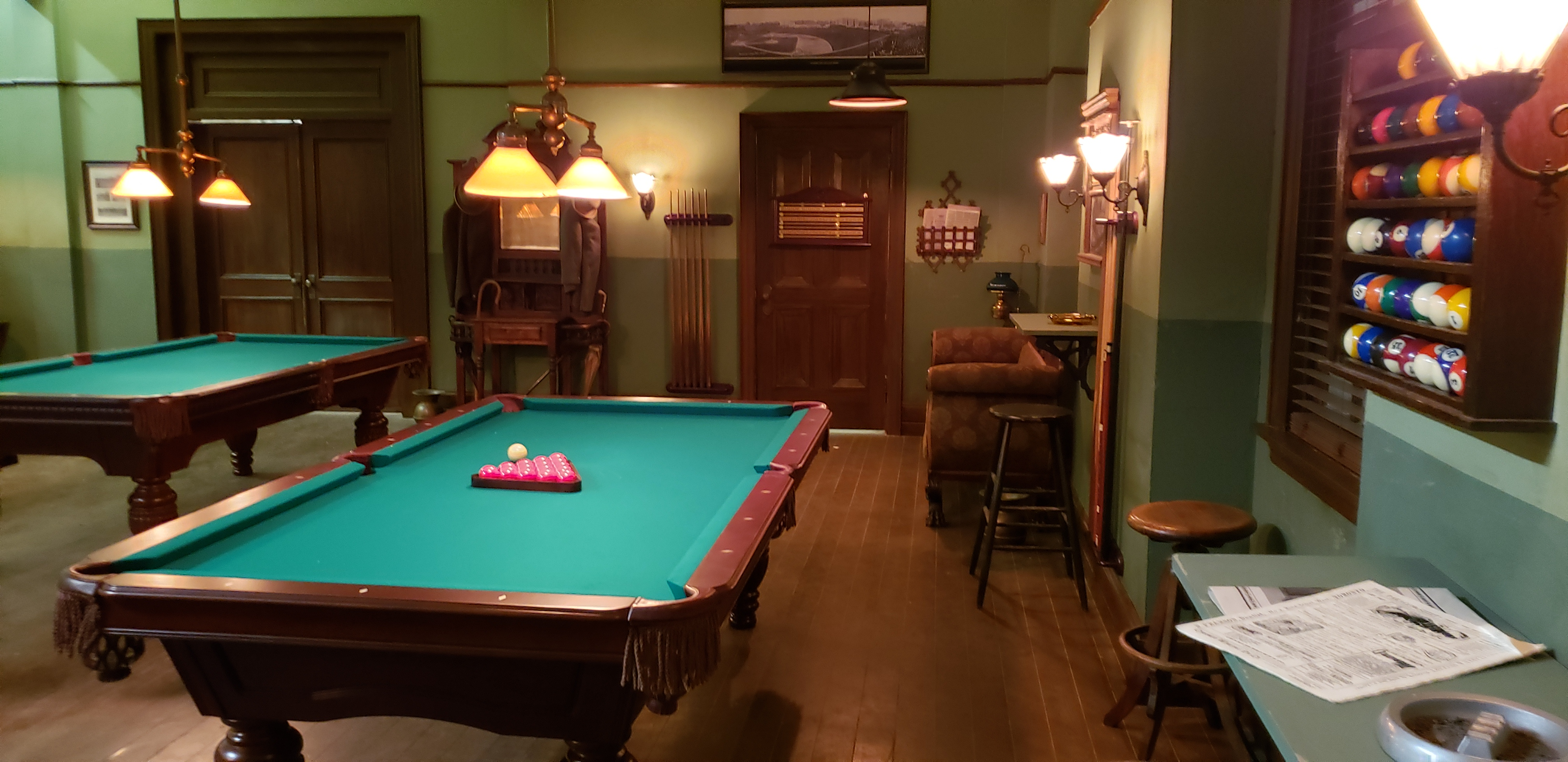Mr. Billiard in cooperation with Beringer was pleased to supplier to the Set Of Murdoc Mysteries. Watch this season and get a glimpse of the fabulous Lemire Billiard Table.
