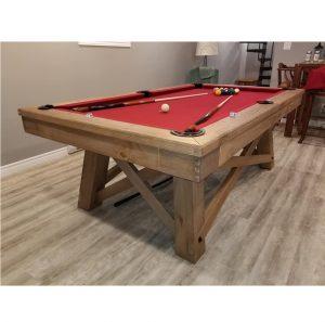 Beringer Aspen 8 Ft Pool Slate Pool Table