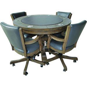 Beringer - Hand Scaped Poker Table