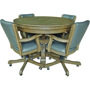 Beringer - Hand Scaped Poker Table with cover