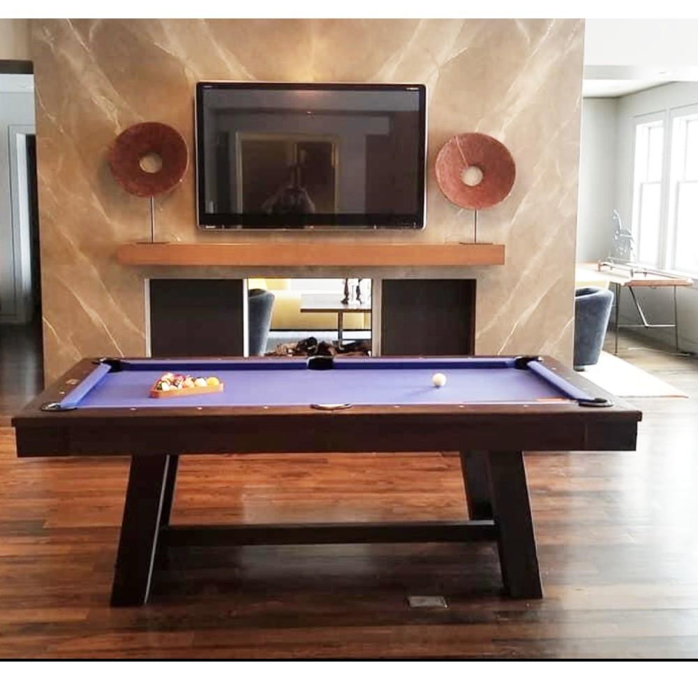 Beringer The Manseau 8ft Pool Table 1