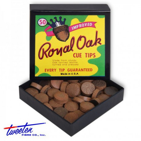 Royal Oak Cue Tips – box of 50 – made in usa