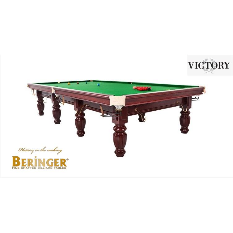 BERINGER VICTORY STEEL BLOCK TABLE MADE BY STAR BILLIARDS