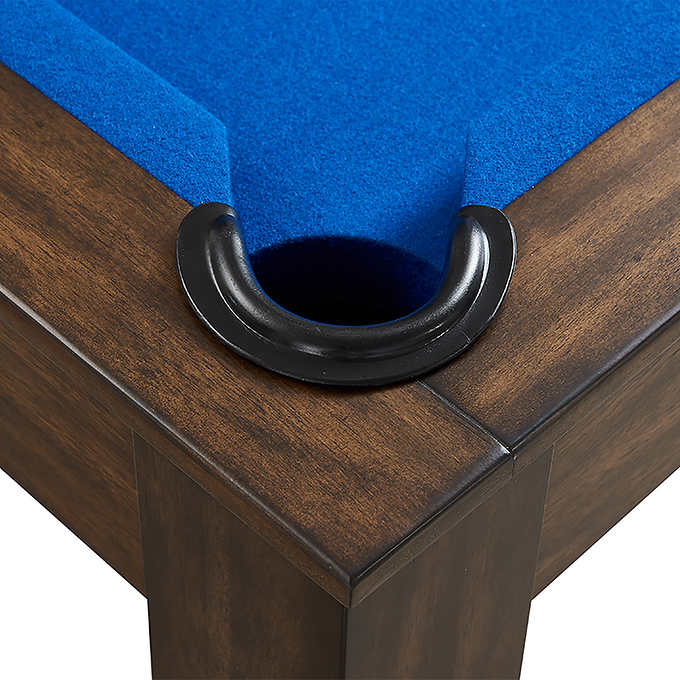 Beringer Rivo 7ft All in one Slate Pool Table – Leather Drop Pocket