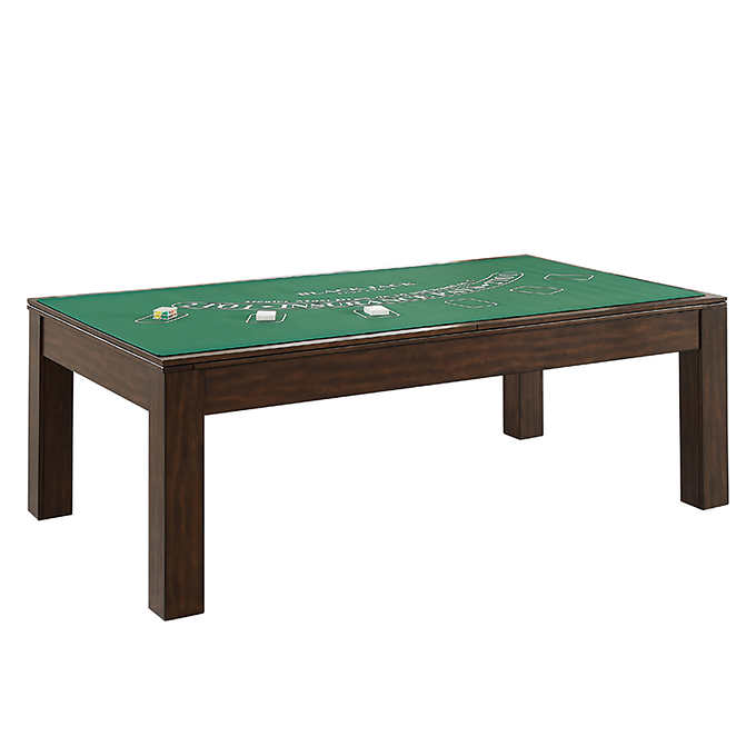 Beringer Rivo 7ft All in one Slate Pool Table with Poker n Black Jack top