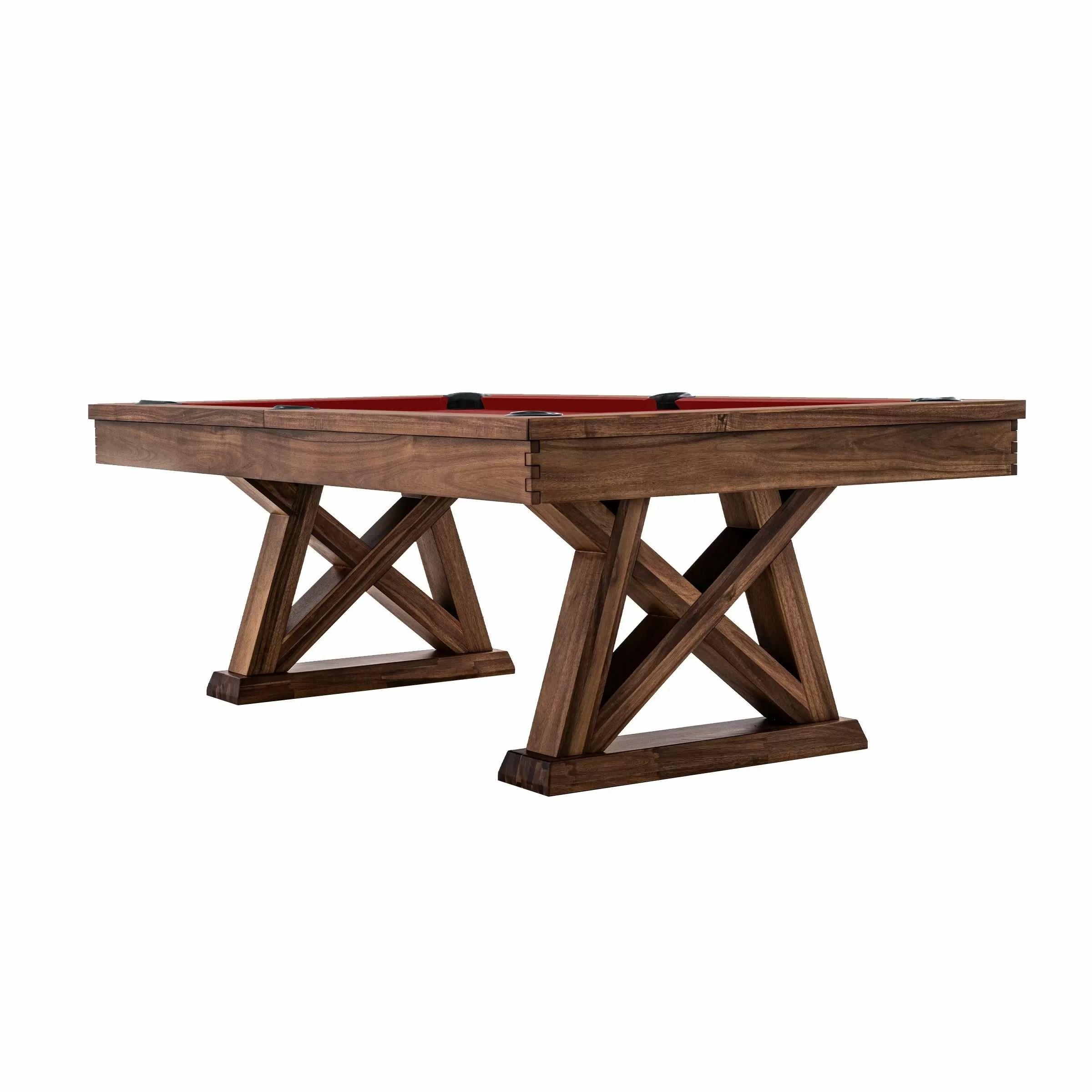 Imperial – Laredo Pool Table – Acacia – Side View